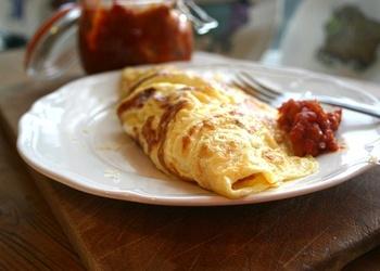 Omlete ar ievārījumu
