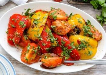 Grilēti dārzeņu salāti