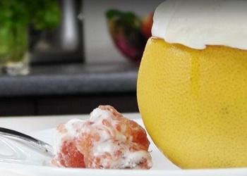Greipfrūtu deserts ar bezē - VIDEO RECEPTE