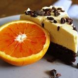 Šokolādes – apelsīnu torte ar saldo krējumu