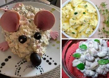 Septiņas salātu receptes svētku galdam