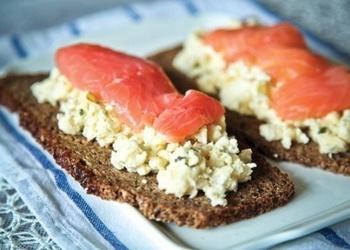 Skandināvu sendviči brokastīm