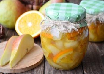 Bumbieru un apelsīnu ievārījums