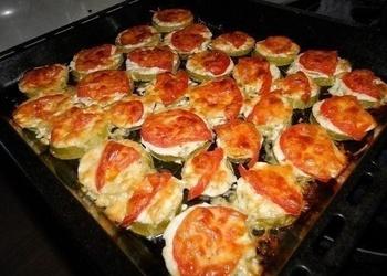 Krāsnī cepti kabači ar sieru
