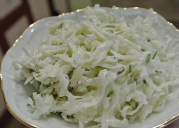 Rutku salāti ar krējumu