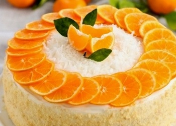 "Mandarīnu torte ar ""Philadelphia"" sieru"