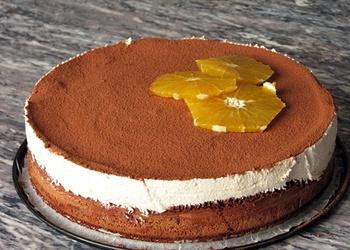 Tiramisu torte ar apelsīniem