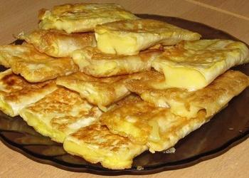 Lavašs ar sieru