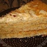 "Skābā krējuma – medus torte ""Anna"""