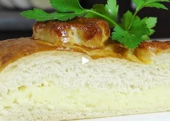 Lielais pīrāgs ar kartupeļu pildījumu - VIDEO RECEPTE