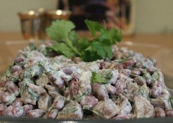 Teļa gaļas cepeša salāti