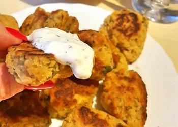 """Ievas Brantes """"Falafeli"""" jeb turku zirņu plācenīšu recepte"""