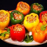 Pildītas paprikas ar dārzeņiem