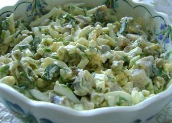 Loku salāti ar olām