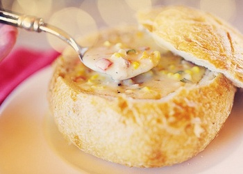 Kukurūzas zupa ar sieru