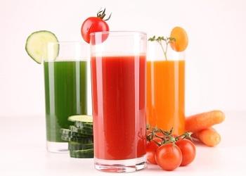 Veselīgs dārzeņu dzēriens bērniem