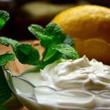 Piparmētru un citronu krēms