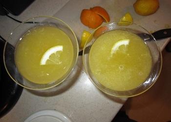 Citronu dzēriens ar sieru