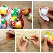 Skaisti krāsotas olas Lieldienām!