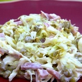 Zaļo zirnīšu salāti