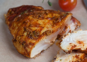 Garšvielu vistas gaļa