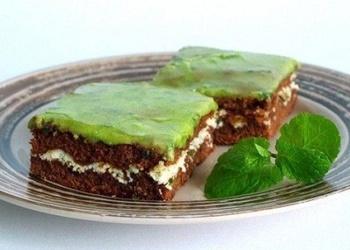 Piparmētru – šokolādes kūka