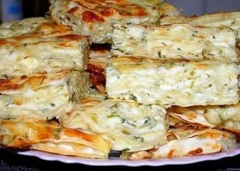 Ačma - pīrāgs ar sieru gruzīnu gaumē