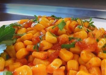 Kukurūza tomātu mērce
