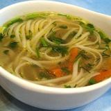 Картофельный суп с макаронами