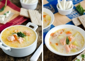 Siera zivju zupa