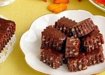 Šokolādes-riekstu konfektes