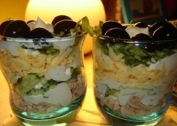 Salātu kokteilis diviem