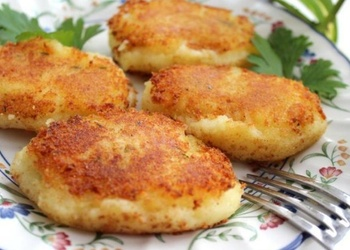 Kartupeļu kotletes senču gaumē