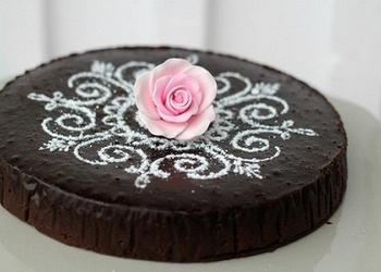 Šokolādes torte franču gaumē