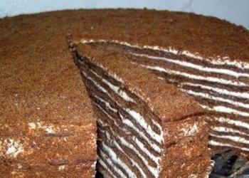 """Torte """"Nutella"""" ar divu veidu krēmu maisījumu"""