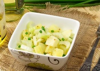 Aukstie kartupeļu salāti