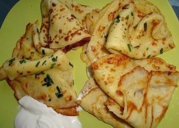 Тонкие картофельные блины