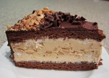 """Šokolādes torte """"Snickers"""""""