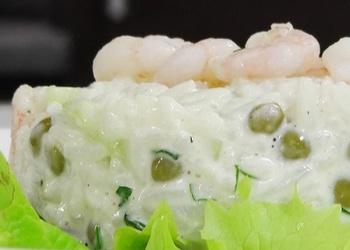 Rīsu salāti ar garnelēm - VIDEO RECEPTE
