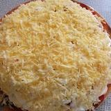 """Vistas filejas salāti """"Pasaka"""" ar sieru"""