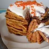 Pankūkas ar burkānu tortes garšu