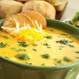 Сырный суп (с плавлeнным сырком) с курицeй
