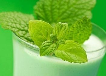 Piparmētru piens