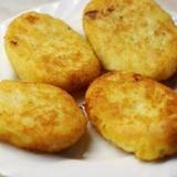 Kartupeļu kotletes ar vistas gaļu