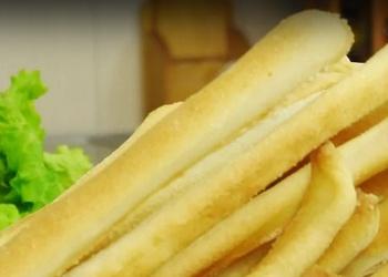 Kraukšķīgas maizes standziņas - VIDEO RECEPTE