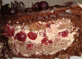 """Torte """"Reibinošais ķirsis"""""""