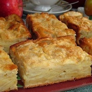 Ābolu pīrāgs-suflē