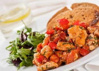 Baraviku un tomātu sautējums