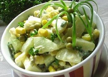 Kartupeļu un gurķu salāti