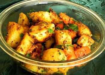 Kartupeļi indiešu gaumē